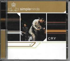 CD ALBUM 12 TITRES--SIMPLE MINDS--CRY--2002
