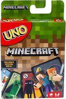 UNO Minecraft Card Game - Mattel Uno Minecraft New in the UK from Mattel