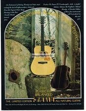 1977 TAMA TG Acoustic Guitar Vtg Print Ad