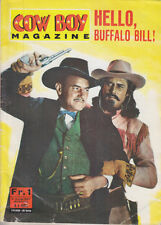 C1 WESTERN Cow Boy Magazine HELLO BUFFALO BILL 1967 Bernard RAY Richard ARLEN