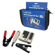 NETWORKING TOOL SET : CRIMPING 8P8C + LSA PUNCH DOWN + STRIPPING + CABLE TEST