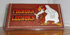 FOGHORN LEGHORN CHECKBOOK COVER. HENERY HAWK......FREE SHIPPING