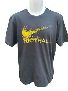 Neuf Nike Football Coton T-Shirt Noir M