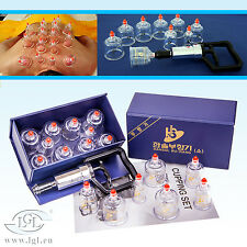 Hansol Set For Cupping/Cupping Set 10/Vacuum Bell / Cupping банки