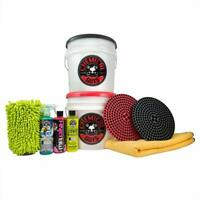 Chemical Guys HOL129 Best Two Bucket Wash and Dry Kit (11 Items) Free Shipping