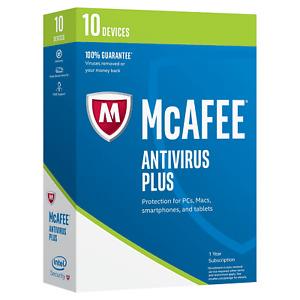 McAfee 2017 Antivirus Plus 10 Devices