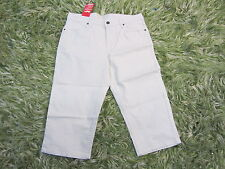 Smiths Stretch Capris BRAND NEW light khaki slimming w tags sz 6  cropped jeans