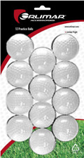 12 Pack of Orlimar White Solid Practice Golf Balls