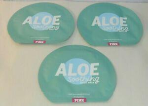 Victoria's Secret PINK Aloe Soothing Face Sheet Mask 3 Pks Soothing Aloe Vera