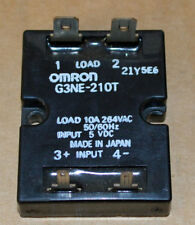OMRON G3NE-210T COMPACT SOLID STATE RELAY 5VDC/100-240 VAC 10A