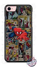 Spider-man Super Hero Comic A3 Design Phone Case for iPhone Samsung LG etc.