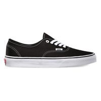 Vans Authentic Classic Black White Skate Shoes Mens Sizes