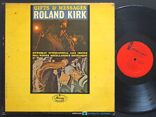 ROLAND KIRK Gifts & Messages LP MERCURY MG 20939 US 1964  DG MONO Horace Parlan
