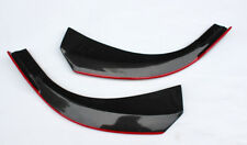 For Mercedes Benz CLA-Class W117 14-16 Carbon Front Lip Splitter With Red Line