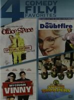 Office Space / Mrs Doubtfire / My Cousin Vinny [New DVD] Widescreen