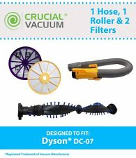 REPL Dyson DC07 Pre/Post Filters Yellow Hose Clutch Roller Part # 90412514