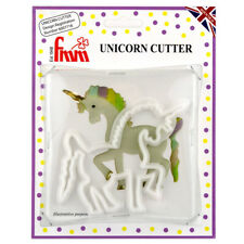 FMM Unicorn Horse Sugarcraft Gum Paste Plastic Cutter for Cake Decoration
