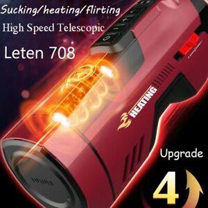 Leten-Upgrade-Automatic-Piston-Telescopic-Sucking-Male-Realistic-Vagina Heating
