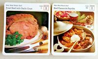 My Favourite Recipes 106 Recipe Cards - MAIN MEAT MEALS: BEEF