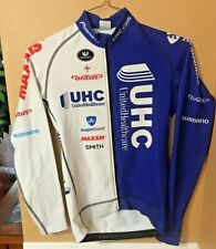 Vermarc UnitedHealthcare Pro Cycling Team Thermal Jersey Wilier Blue Men's Small
