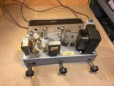Zenith Stereo Tube Console Amplifier Single-Ended EL84 12AU7 12AX7 Face & Knobs
