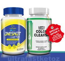 One Shot Keto Advanced Weight Loss Metabolic Support 60 Pills PURE KETO