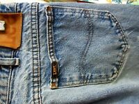 30x34 Actual  FIT RELIC True Vtg 80s LEE UNION MADE Mens Denim Jeans USA
