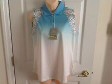 Page & Tuttle women's golf shirt cool swing Nwt size M style P17S39 Msrp $49