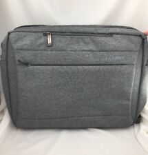 Cool Bell Laptop Bag Bookbag Carrying Case Organizer Different Straps Grey NEW
