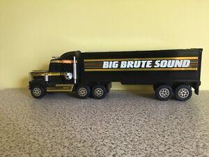"BUDDY L BIG BRUTE SOUND VINTAGE 1989 BUDDY L 21"" ELECTRONIC PRESSED STEEL TRUCK"