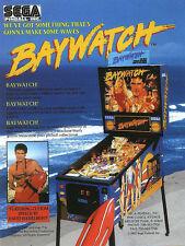 Sega Baywatch pinball eprom rom upgrade set