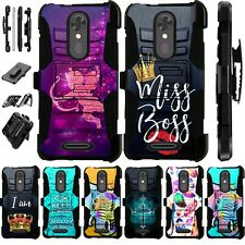 For LG K51 2020 Holster Case Armor Kickstand Cover LuxGuard New D4