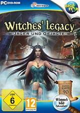 WITCHES` LEGACY * JÄGER UND GEJAGTE * WIMMELBILD-SPIEL  PC DVD-ROM