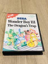 WONDER BOY 3 III Dragon's Trap - SEGA Mega Drive Genesis PAL  - Funzionante -