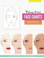 Makeup Artist Face Charts The Beauty Studio Collection Paperback