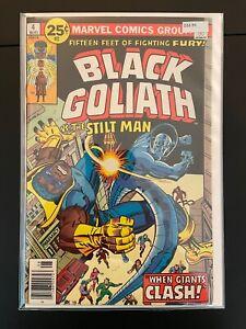 Black Goliath 4 Higher Grade marvel Comic Book D33-95