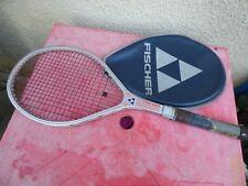 raquette de tennis vintage Fischer Stan Smith Power glass mid
