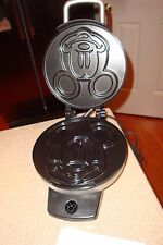 Disney Classic Mickey Waffle Maker Brushed Stainless Steel Model DCM-1