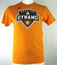 Houston Dynamo Men's adidas Orange Go-To Short Sleeve 100% Cotton Tee MLS