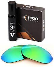 Polarized IKON Iridium Replacement Lenses For Oakley Monster Dog Emerald Mirror