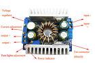 150W DC-DC Boost Converter 8V-32V Step Up to 10-46V Voltage Power Supply Módulo