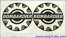 Bombardier Clear Sea Ski Doo Decals Stickers Emblems BRP x2 pieces Motor Body