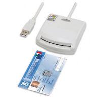 LETTORE SMART CARD SMARTCARD READER USB per FIRMA DIGITALE TESSERA SANITARIA