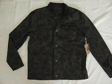 True Religion Camo Military Jacket -Brown/Green Water Resist-Mens XL- NWT $248