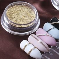 0.4mm Nail Art Mini Beads Balls Pearls Caviar Tips Acrylic UV 3D DIY Decor~