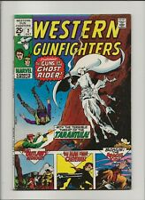 Western Gunfighters 2 Fine- 5.5 Ghost Rider & More Free Low Grade MMW 10 1970