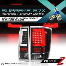 !Full LED w/Supreme Light Bulb! Neon Tube Black Tail Lamp FOR 04-15 Nissan Titan