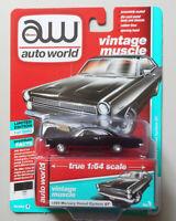 1966 Mercury Comet Cyclone GT Onyx AUTO WORLD DIE-CAST 1:64 CAR w BOX