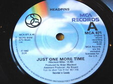 """HEADPINS - JUST ONE MORE TIME  7"""" VINYL"""