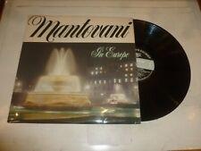 MANTOVANI - In Europe - 1968 UK 12-track vinyl LP
